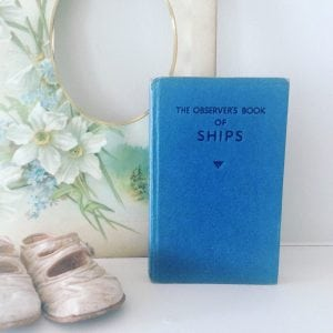 Lovely 'Ships' observer book