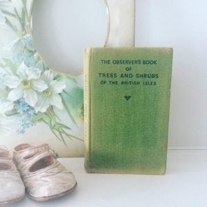 Beautiful little 'Trees and Shrubs' observer book
