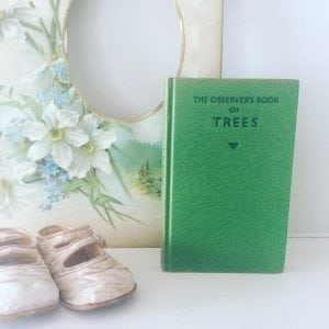 Beautiful little 'Trees' observer book